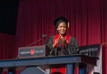 Vivian Onano Commencement Speech at Carthage College