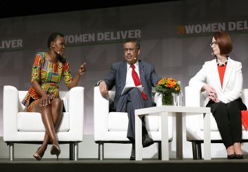 A girl and women lens on the SDGs