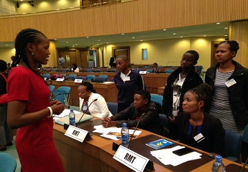 Young people at the centre of the Sustainable Development Goals